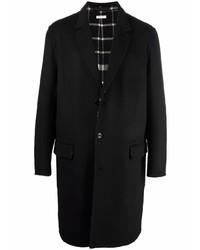 schwarzer Mantel von Alexander McQueen