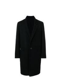 schwarzer Mantel von AMI Alexandre Mattiussi