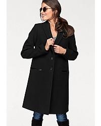 schwarzer Mantel von Aniston CASUAL