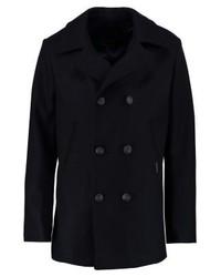 schwarzer Mantel von Armor Lux