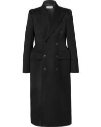 schwarzer Mantel von Balenciaga