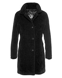 schwarzer Mantel von Barbara Lebek