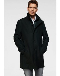 schwarzer Mantel von BRUNO BANANI