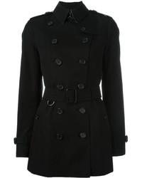 schwarzer Mantel von Burberry