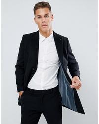 schwarzer Mantel von Burton Menswear