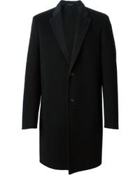 schwarzer Mantel von Calvin Klein