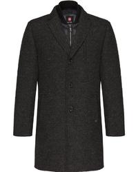 schwarzer Mantel von CG - Club of Gents