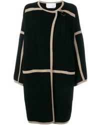schwarzer Mantel von Chloé