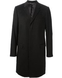 schwarzer Mantel von Dolce & Gabbana