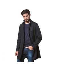 schwarzer Mantel von EMILIO ADANI
