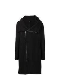 schwarzer Mantel von Emporio Armani