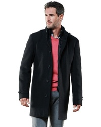 schwarzer Mantel von ENGBERS