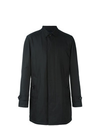 schwarzer Mantel von Ermenegildo Zegna