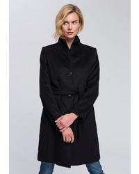 schwarzer Mantel von ESPRIT Collection