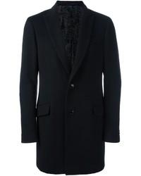 schwarzer Mantel von Etro
