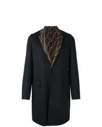 schwarzer Mantel von Fendi
