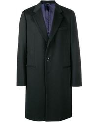 schwarzer Mantel von Giorgio Armani