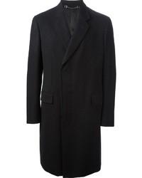 schwarzer Mantel von Gucci