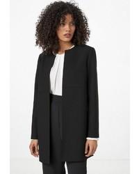 schwarzer Mantel von Hallhuber