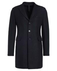 schwarzer Mantel von Harris Wharf London