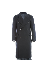 schwarzer Mantel von Hed Mayner