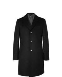 schwarzer Mantel von Hugo Boss