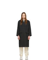 schwarzer Mantel von Isabel Marant Etoile