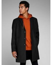 schwarzer Mantel von Jack & Jones