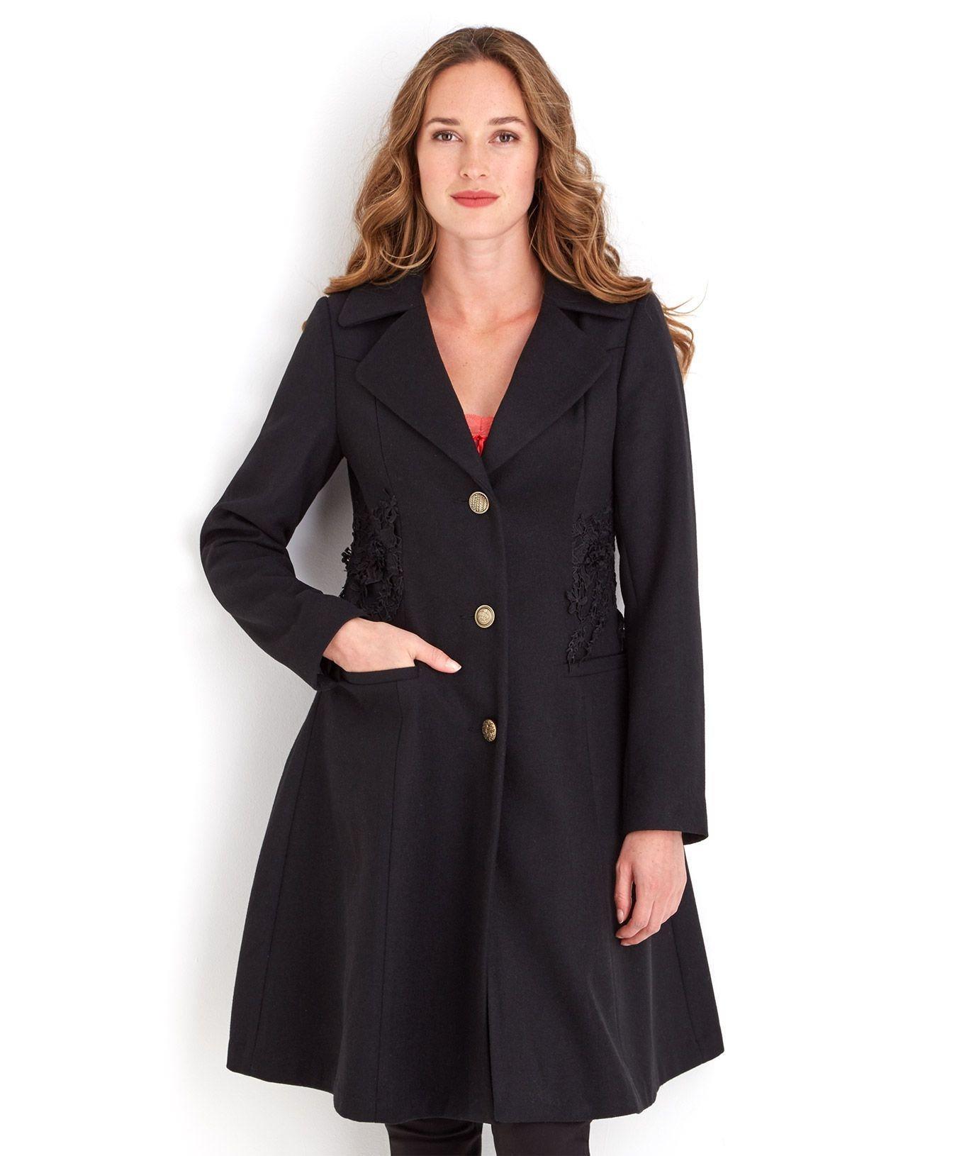 052ed42359d90f schwarzer Mantel von Joe Browns, €118   OTTO   Lookastic