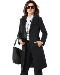 schwarzer Mantel von LADY