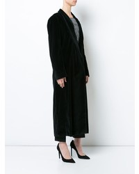 schwarzer Mantel von Giuliva Heritage Collection