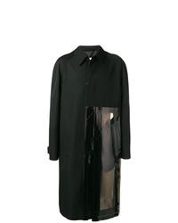 schwarzer Mantel von Maison Margiela