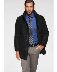 schwarzer Mantel von Man´s World City Business