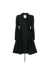 schwarzer Mantel von Moschino