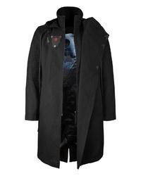 schwarzer Mantel von Musterbrand