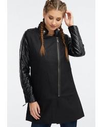schwarzer Mantel von myMo