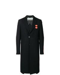 schwarzer Mantel von Off-White