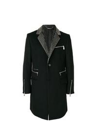 schwarzer Mantel von Philipp Plein