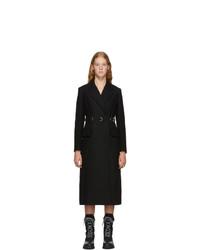 schwarzer Mantel von Prada