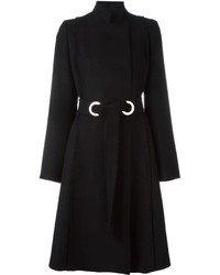 schwarzer Mantel von Proenza Schouler