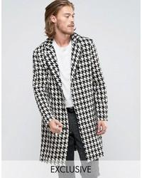 Schwarzer Mantel von Reclaimed Vintage