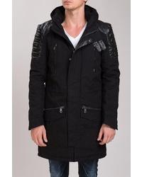 schwarzer Mantel von Redbridge