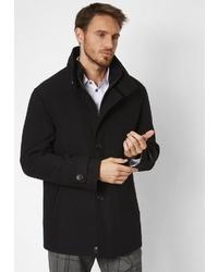 schwarzer Mantel von S4 JACKETS