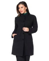schwarzer Mantel von SHEEGO CLASS
