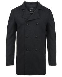 schwarzer Mantel von Solid