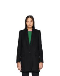 schwarzer Mantel von Stella McCartney