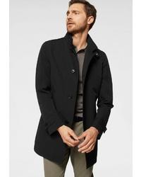 schwarzer Mantel von Strellson