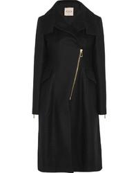 schwarzer Mantel von Tod's