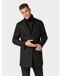 schwarzer Mantel von Tom Tailor