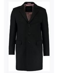 schwarzer Mantel von Tommy Hilfiger